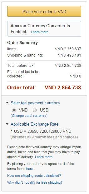 Hãy kiểm tra kỹ đơn hàng mua trên Amazon