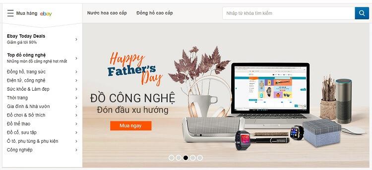 Weshop hỗ trợ mua hàng Ebay dễ dàng