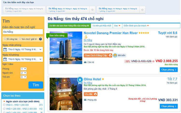Khách sạn ở Booking.com
