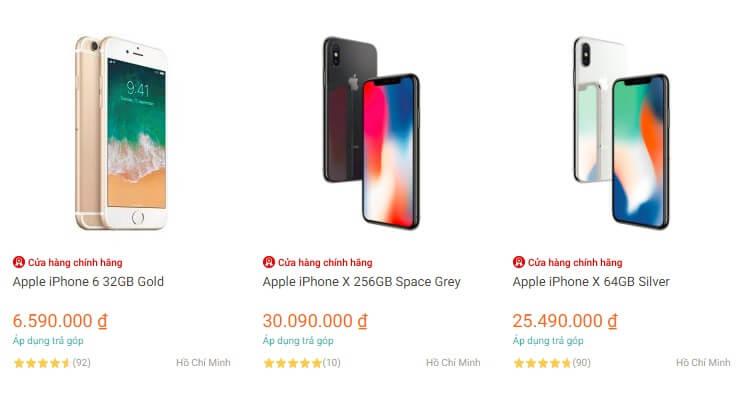 Lazada phân phối iPhone chính hãng giá cực rẻ