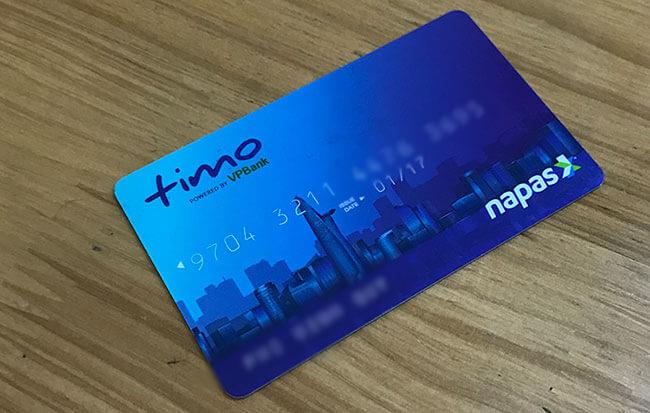 Thẻ ATM Timo là một thẻ do VPBank phát hành