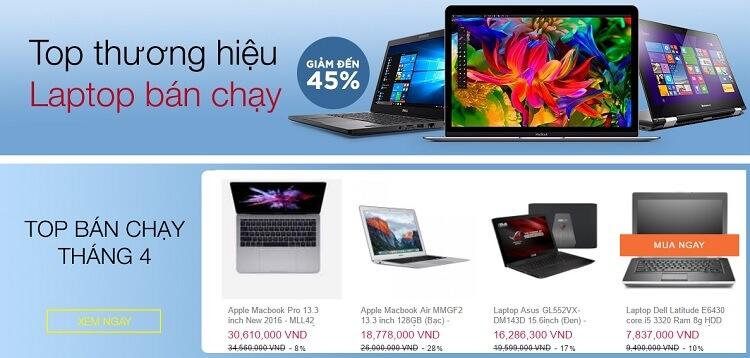 Có nên mua Laptop trên Lazada? Laptop nào trên Lazada tốt nhất?