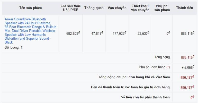 Giá mua trên Fado chỉ 890K rẻ hơn 25%