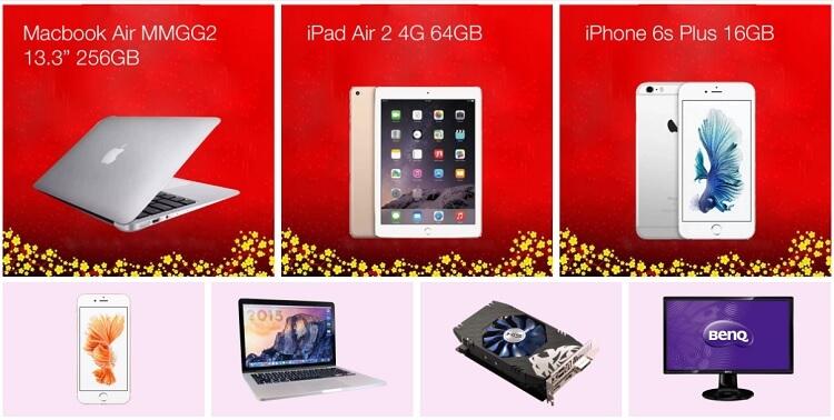 Nhiều MacBook nhập khẩu có giá rẻ ở Lazada