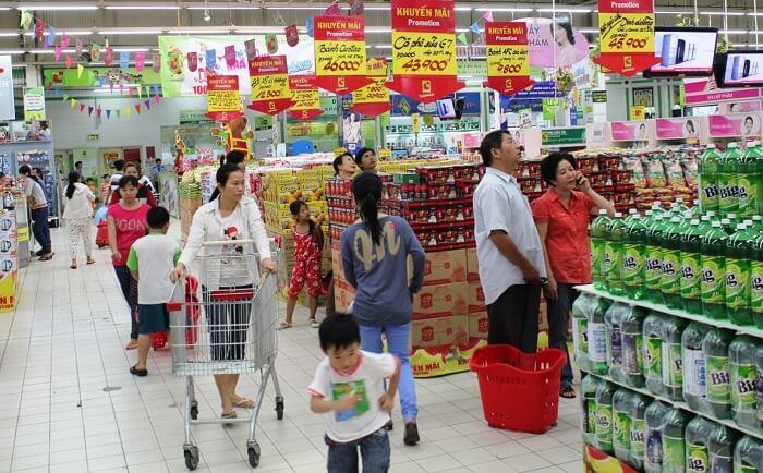 Mua hàng trực tuyến đang dần thay thế hình thức mua hàng ở siêu thị