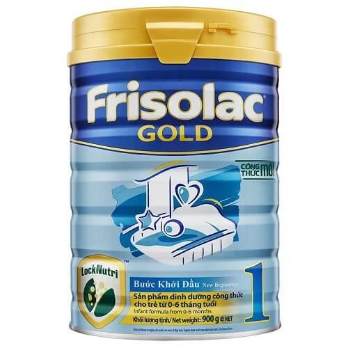 Sữa Frisolac Gold 1 cho trẻ từ 0-6 tháng tuổi