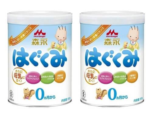 Sữa bột Morinaga số 0 cho trẻ từ 0-9 tháng