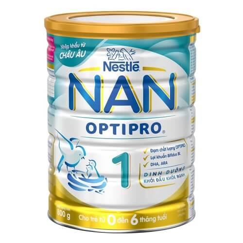 Sữa Nan số 1 cho trẻ sơ sinh từ 0-6 tháng