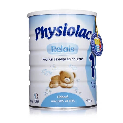 Sữa Physiolac số 1 cho trẻ sơ sinh