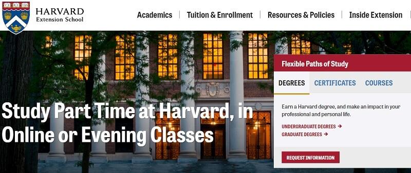 Harvard cung cấp một số khóa học miễn phí nocredit