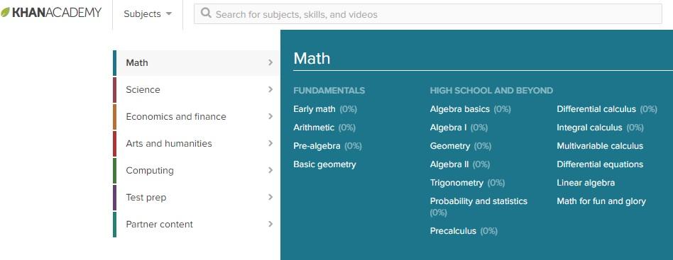Khan Academy là một địa chỉ học trực tuyến miễn phí