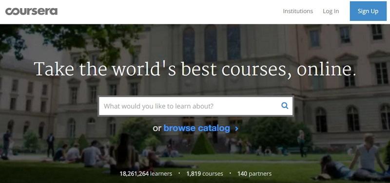 Coursera là nền tảng học trực tuyến thu hút rất nhiều học viên