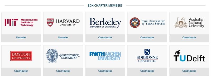 Nhiều đại học cung cấp các khóa học miễn phí trên edX
