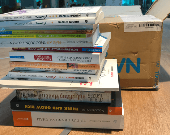 Mua sách Online Tiki rất tiết kiệm