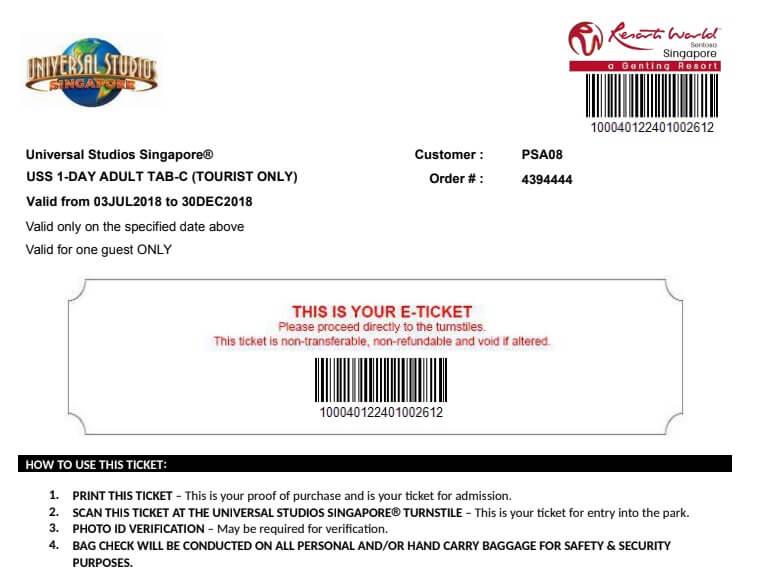 Sử dụng vé điện tử này bạn không cần đổi vé giấy.