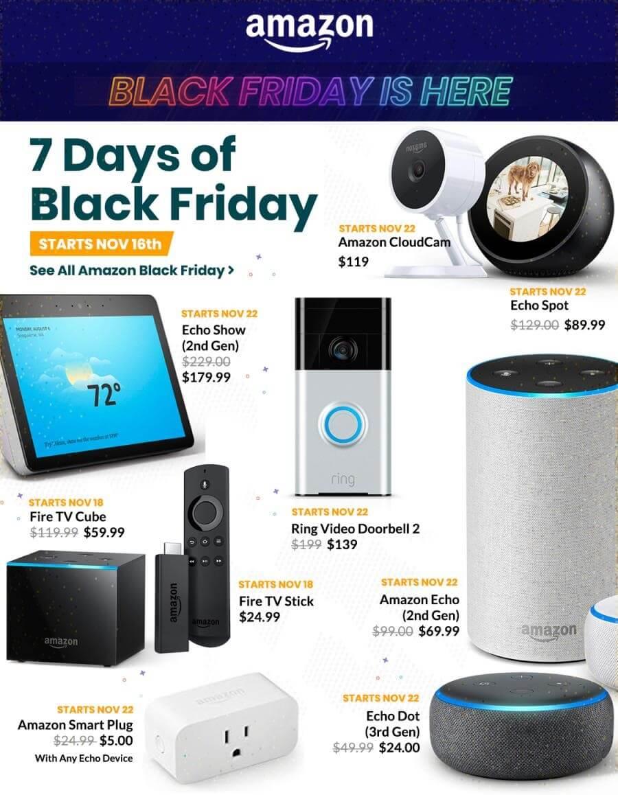 Hàng công nghệ giảm giá Black Friday 2018