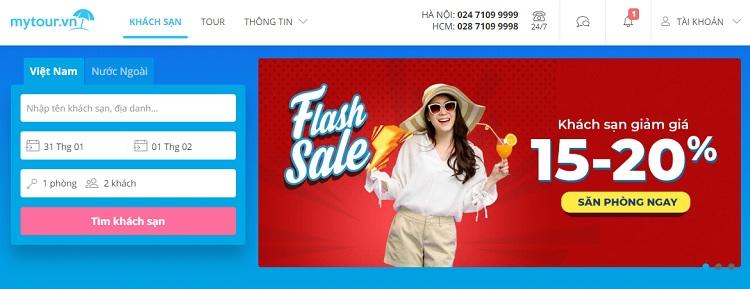 Dịch vụ đặt khách sạn giá rẻ Mytour.vn
